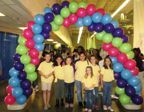 Girl Scout Science Event